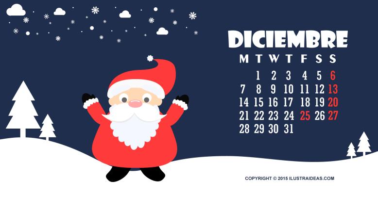 calendario-diciembre-2015-descargable-ilustraideas